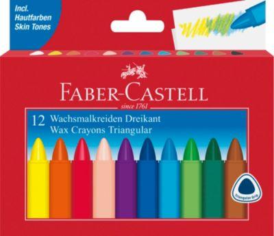 Crayola 24 Jumbo Wachsmalstifte in leuchtenden Farben spezielle fr kleine Kind
