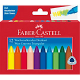 Восковые мелки Faber-Castell, 12 цветов