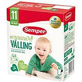 Cухая зерно-молочная смесь Semper Мультизлаковый Valling, с 11 мес, 435 г