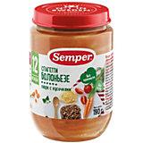 Пюре Semper спагетти Болоньезе с 12 мес, 12 шт х 190 г