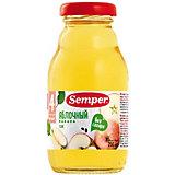 Сок Semper яблочный с 4 мес, 12 шт х 200 мл