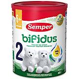 Молочная смесь Semper bifidus 2, с 6 мес, 400 г