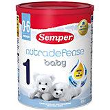 Молочная смесь Semper nutradefense baby 1, с 0 мес, 400 г
