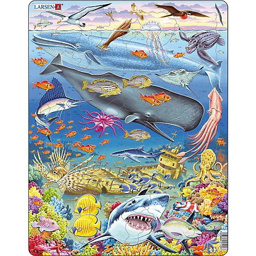 """Пазл Larsen """"Китовый риф"""", 66 элементов от Larsen"""