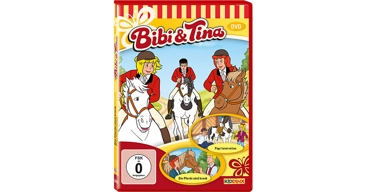DVD Bibi & Tina 05 - Pferde sind krank / Papi l...