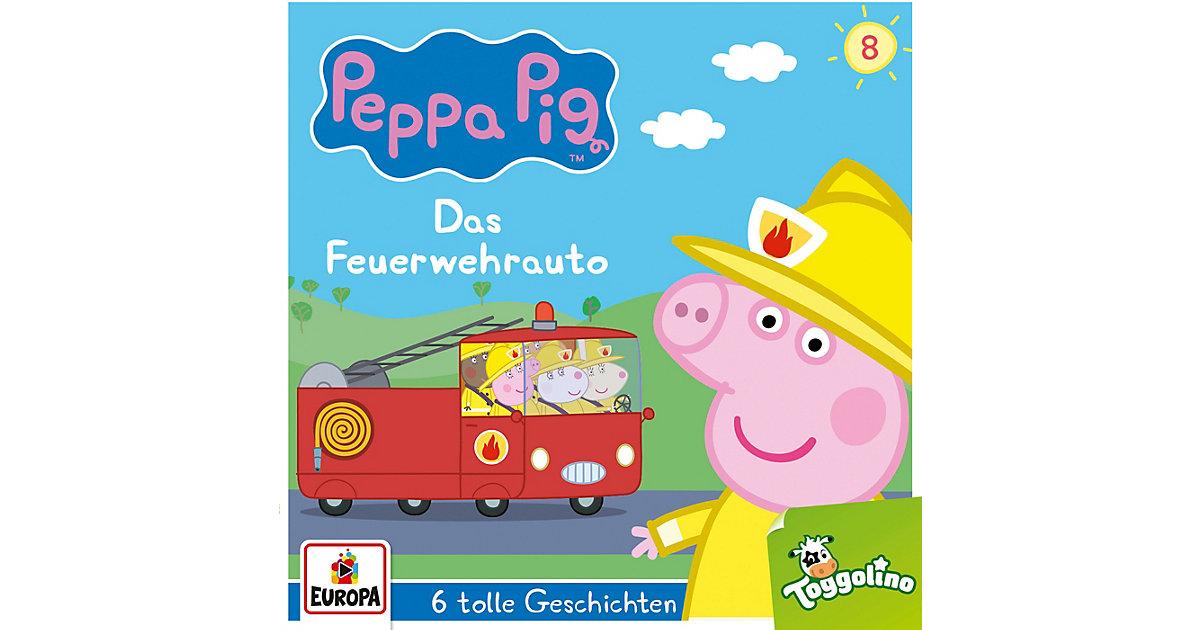 CD Peppa Pig 08 - Das Feuerwehrauto Hörbuch