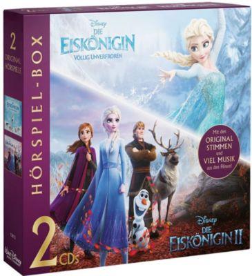 CD Disney - Eiskönigin Hörspiel-Box 1 + 2 (Original-Hörspiele zu den Filmen, 2 CDs) Hörbuch