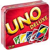 Карточная игра Mattel Games «Уно», версия люкс