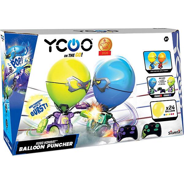 ROBO KOMBAT Balloon Puncher Blue/Green, Ycoo vJiE7z