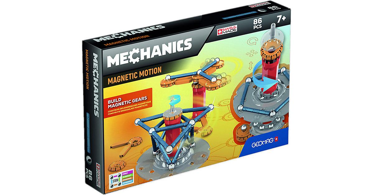 GEOMAG Mechanics 86tlg. mehrfarbig