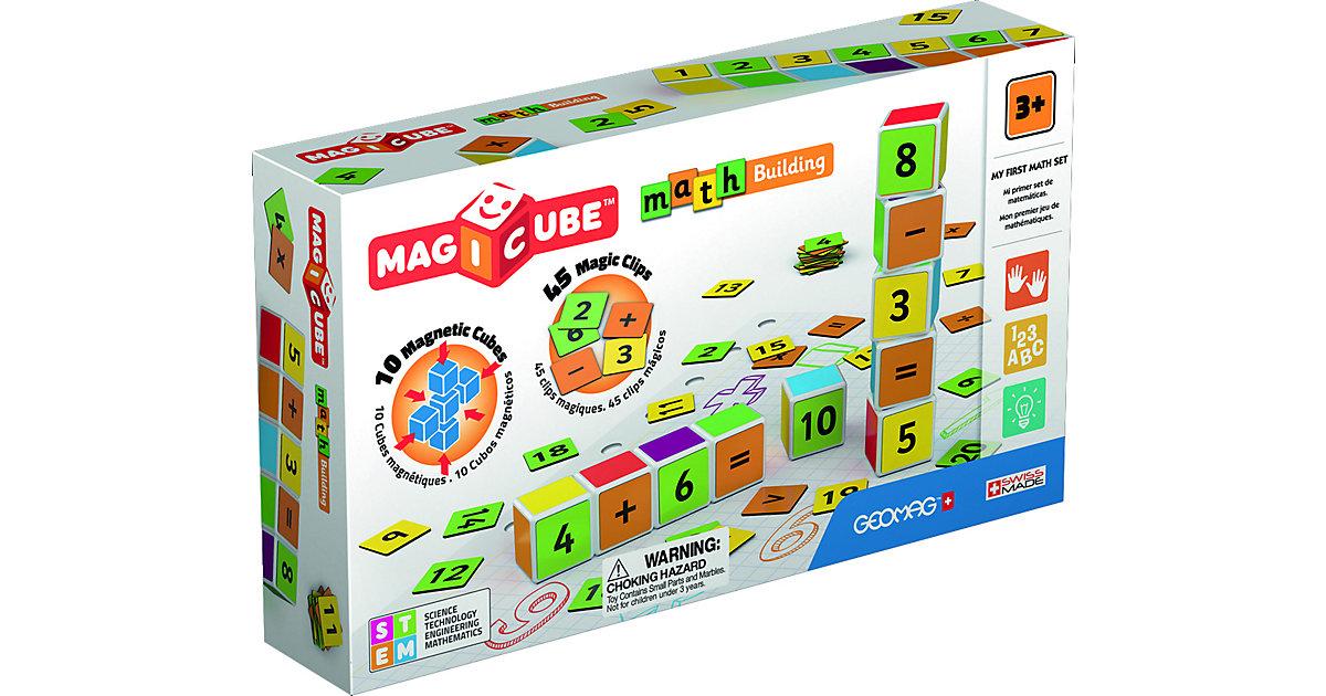 GEOMAG Magicube Maths Building mehrfarbig