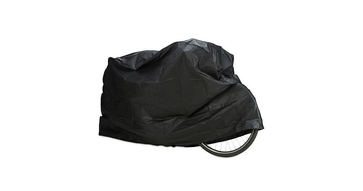 1 x Fahrradgarage schwarz, Schutzhülle wetterfest, Staubschutz Abdeckung robust