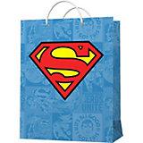 Пакет подарочный  ND Play Superman, большой, 10 шт