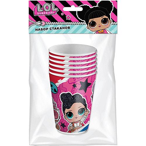 Набор бумажных стаканов ND Play LOL, 6 шт - разноцветный от ND Play
