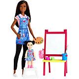 Кукла Barbie из серии «Кем быть?» Учительница рисования