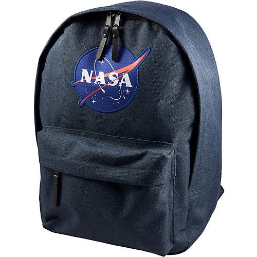 Рюкзак NASA, 38х28х13 см - темно-синий