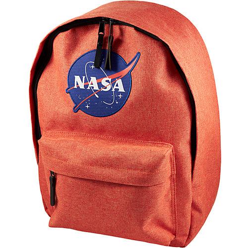 Рюкзак NASA, 38х28х13 см - оранжевый