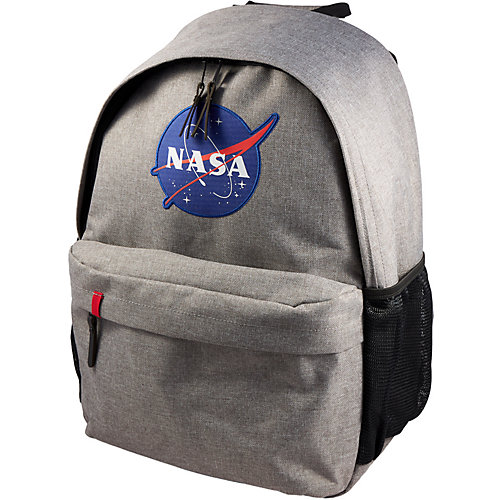 Рюкзак NASA, 44х30х16 см - серый