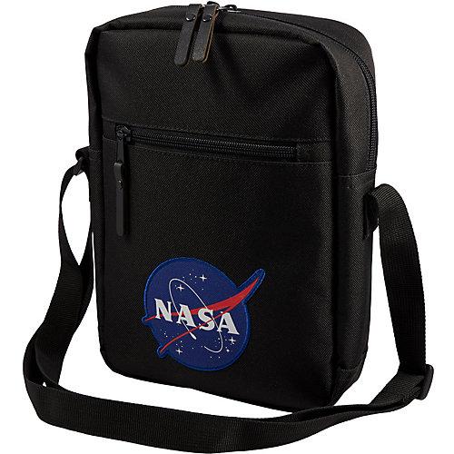 Сумка NASA, 18,5х7,5х25,5 см - черный