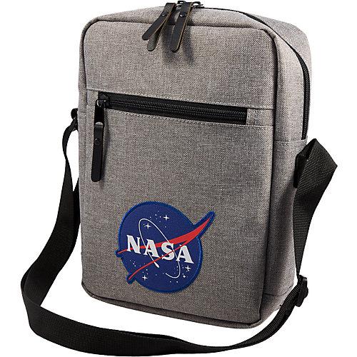 Сумка NASA, 18,5х7,5х25,5 см - серый