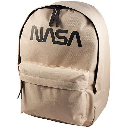 Рюкзак NASA, 38х28х13 см - желтый