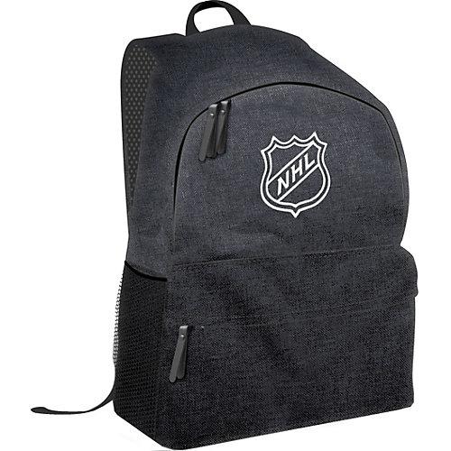 Рюкзак NHL, 30х16х44 см - черный