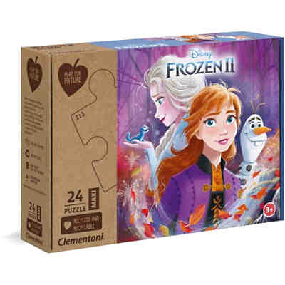 Puzzle 24 Teile Maxi Play for Future - Disney Eiskönigin 2