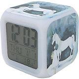 Часы-будильник Единорог с подсветкой №6