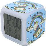 Часы-будильник Единорог с подсветкой №24