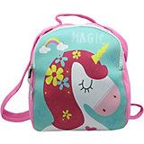 Детский рюкзак Magic Unicorn розово-голубой