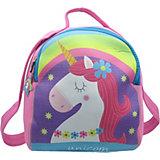 Детский рюкзак Unicorn with rainbow фиолетово-голубой