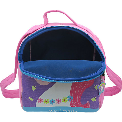 Детский рюкзак Unicorn with rainbow фиолетово-голубой от Mihi-Mihi