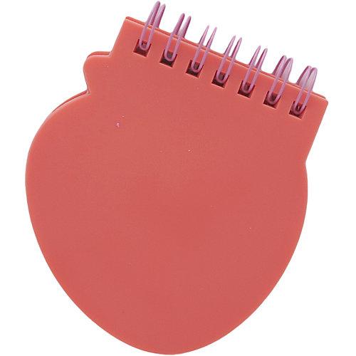 Мини блокнот на кольцах Клубника красный от Mihi-Mihi