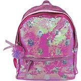 Рюкзак с пайетками Bright Dreams в горошек фуксия