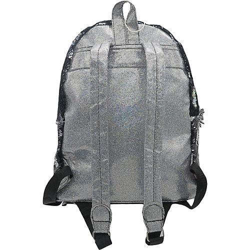 Рюкзак с пайетками Bright Dreams в горошек черный от Mihi-Mihi