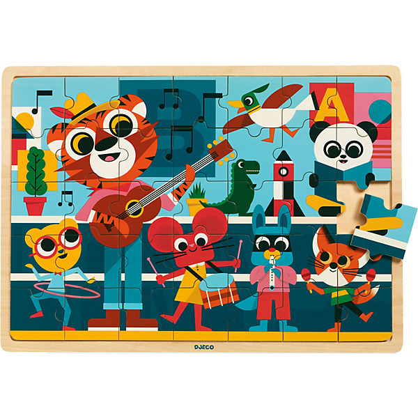 Holz-Puzzle Puzzlo Music, 35 Teile