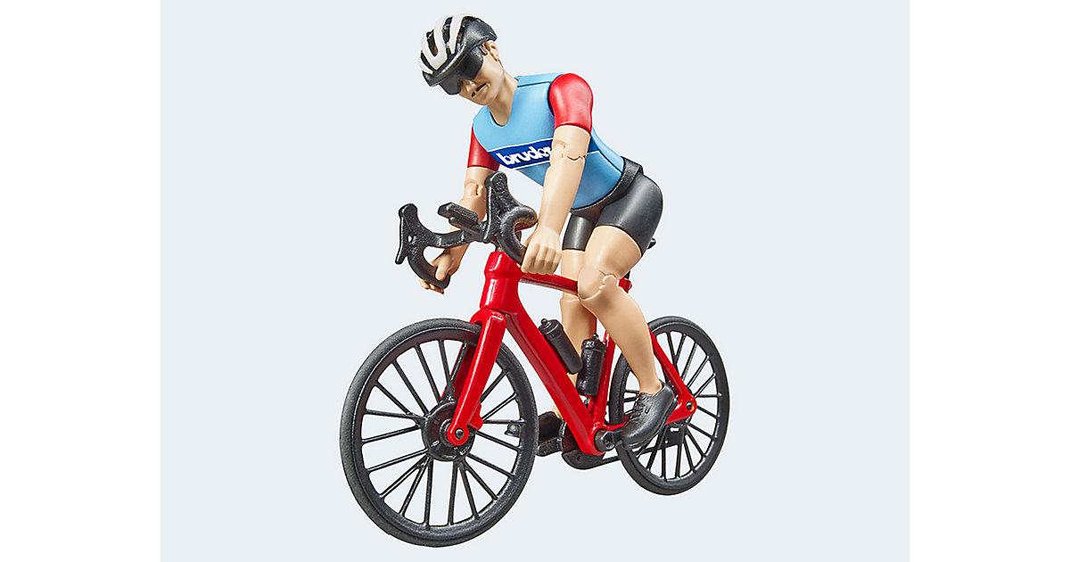 bworld Rennrad mit Radfahrer
