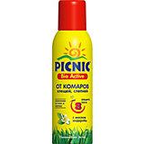 Аэрозоль откомаровиклещей Picnic BioActive, 125 см3