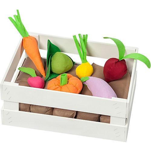 Игровой набор Paremo Овощи в ящике, с карточками, 12 предметов от PAREMO