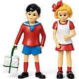 Набор кукол Micki для домика Пеппи Длинный чулок Томми и Анника