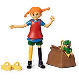 Набор кукол Micki для домика Пеппи Длинный чулок и обезьянка