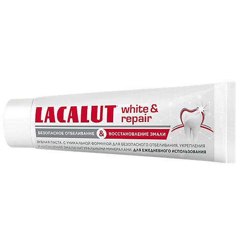Зубная паста Lacalut White & Repair , 75 мл