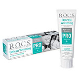 """Зубная паста R.O.C.S. Pro  """"Деликатное отбеливание"""" Sweet Mint, 135 г"""