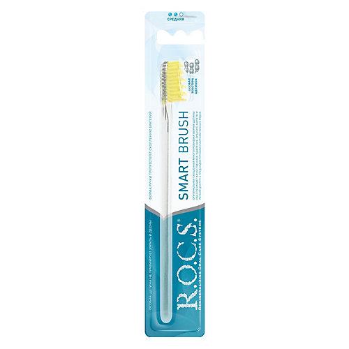"""Зубная щётка R.O.C.S. """"Модельная"""" средняя"""
