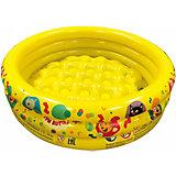 Надувной бассейн 1Toy Три Кота, 70х24 см