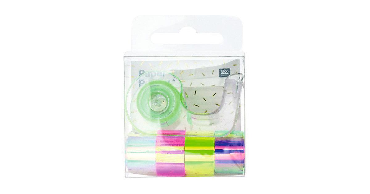 Mini Mirror Tape Set, Regenbogen
