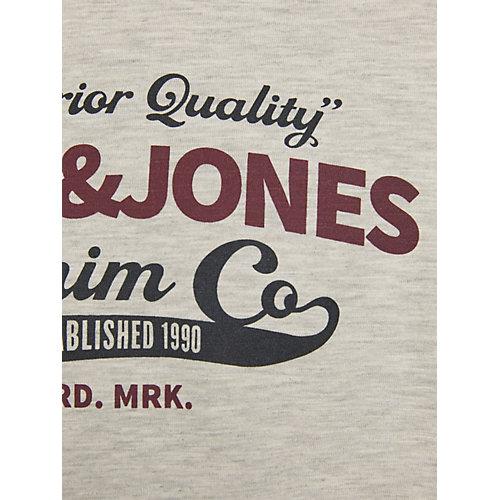 Лонгслив Jack & Jones Junior - темно-красный от JACK & JONES Junior