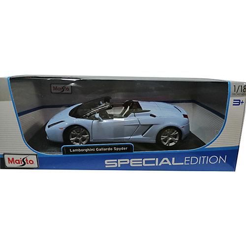 Машинка Maisto Lamborghini Gallardo Spyder , 1:18 от Maisto