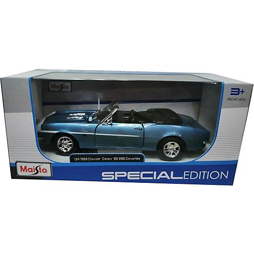 Машинка Maisto Chevrolet Camaro SS 396 Convertible 1968, 1:24 от Maisto