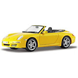 Машинка Maisto Porsche 911 Carrera S Cabriolet, 1:18